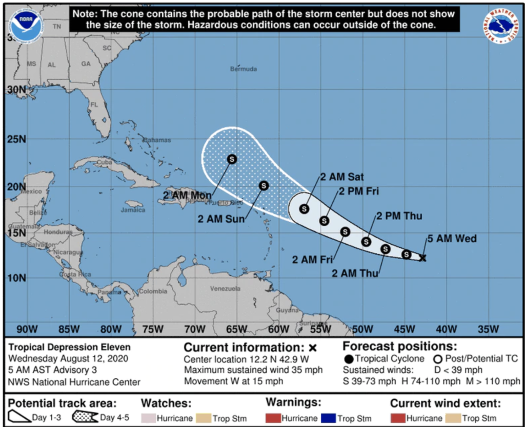 Possible Hurricane Josephine May Hit Florida On Election Day What It Means To You The Space Coast Rocket