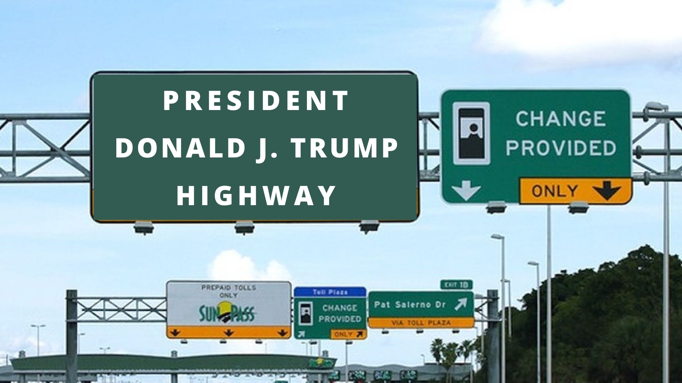 "Rep. Sabatini proposes naming this Florida highway ""President Donald J. Trump  Highway"" - The Space Coast Rocket"
